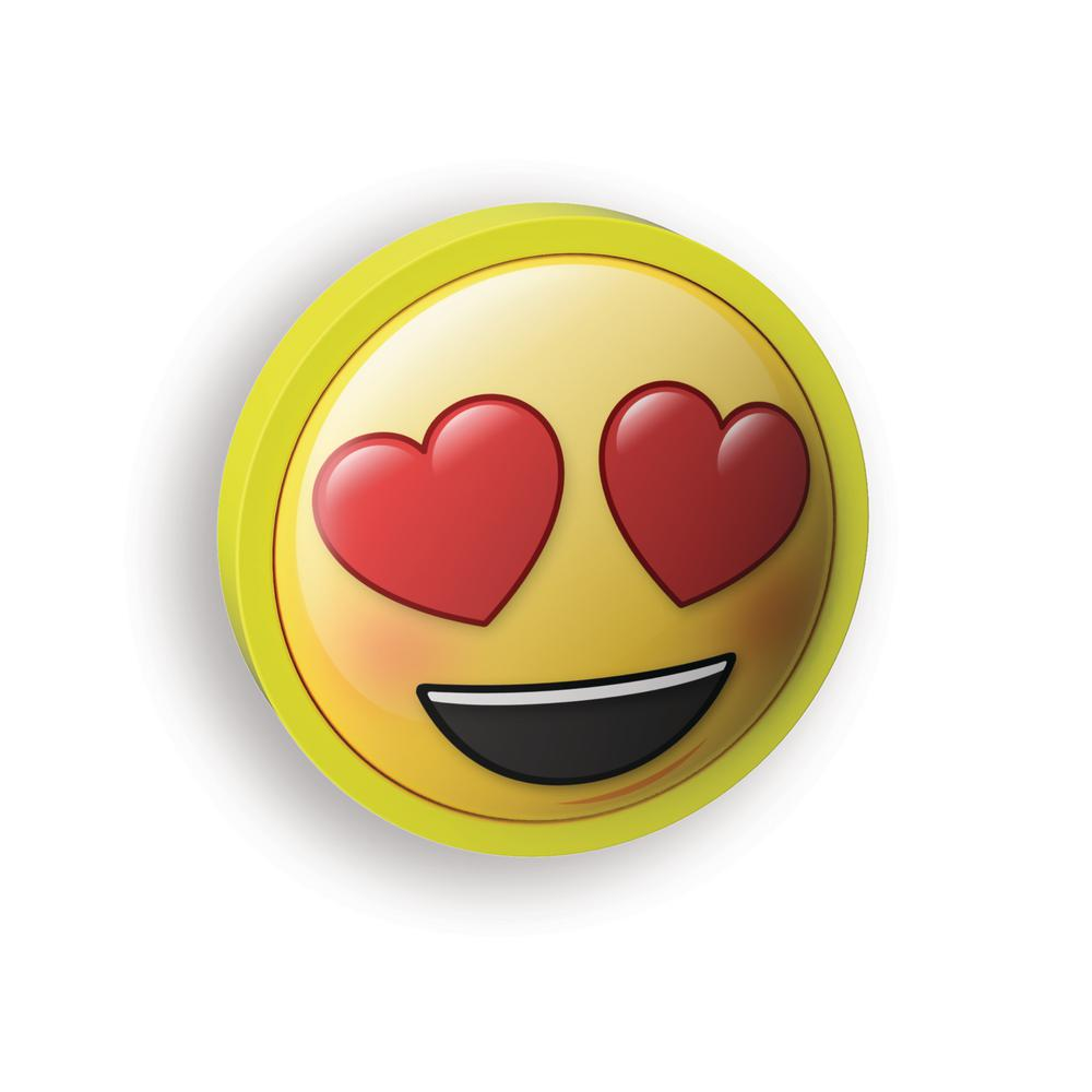 Westek heart eyes emoji led night light