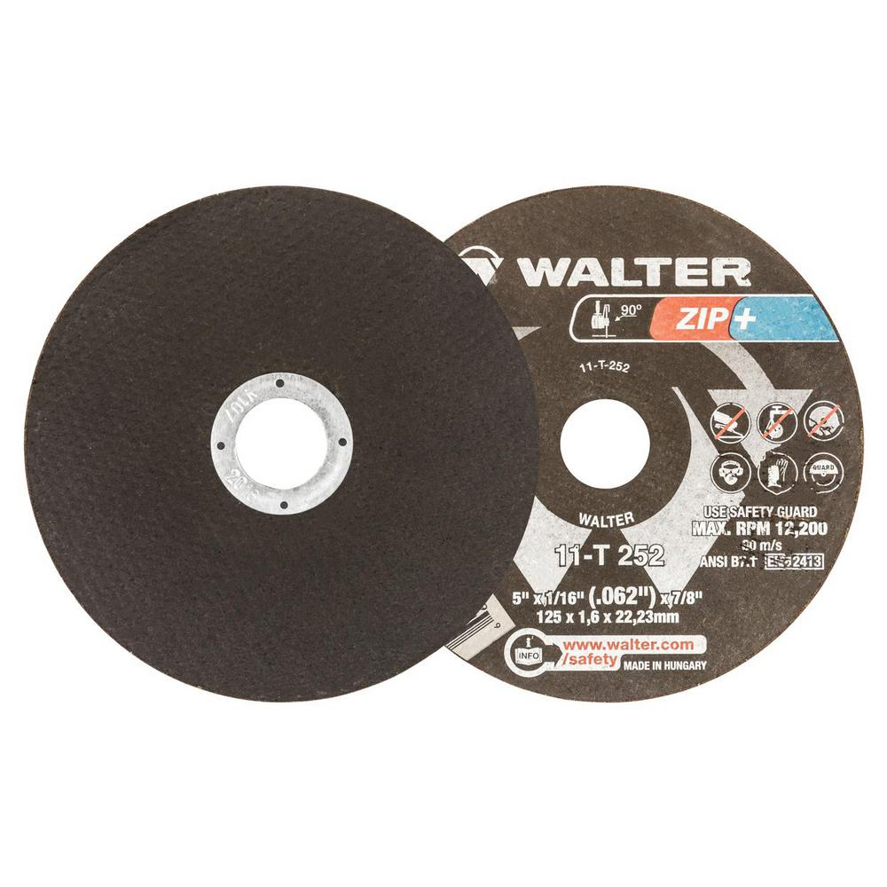 Walter Surface Technologies Zip Xtra 5 In X 7 8 In Arbor