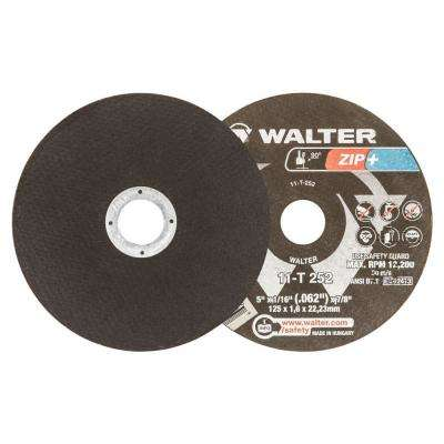 ZIP+Xtra 5 in. x 7/8 in. Arbor x 1/16 in. T1 Cutting Wheel (25-Pack)