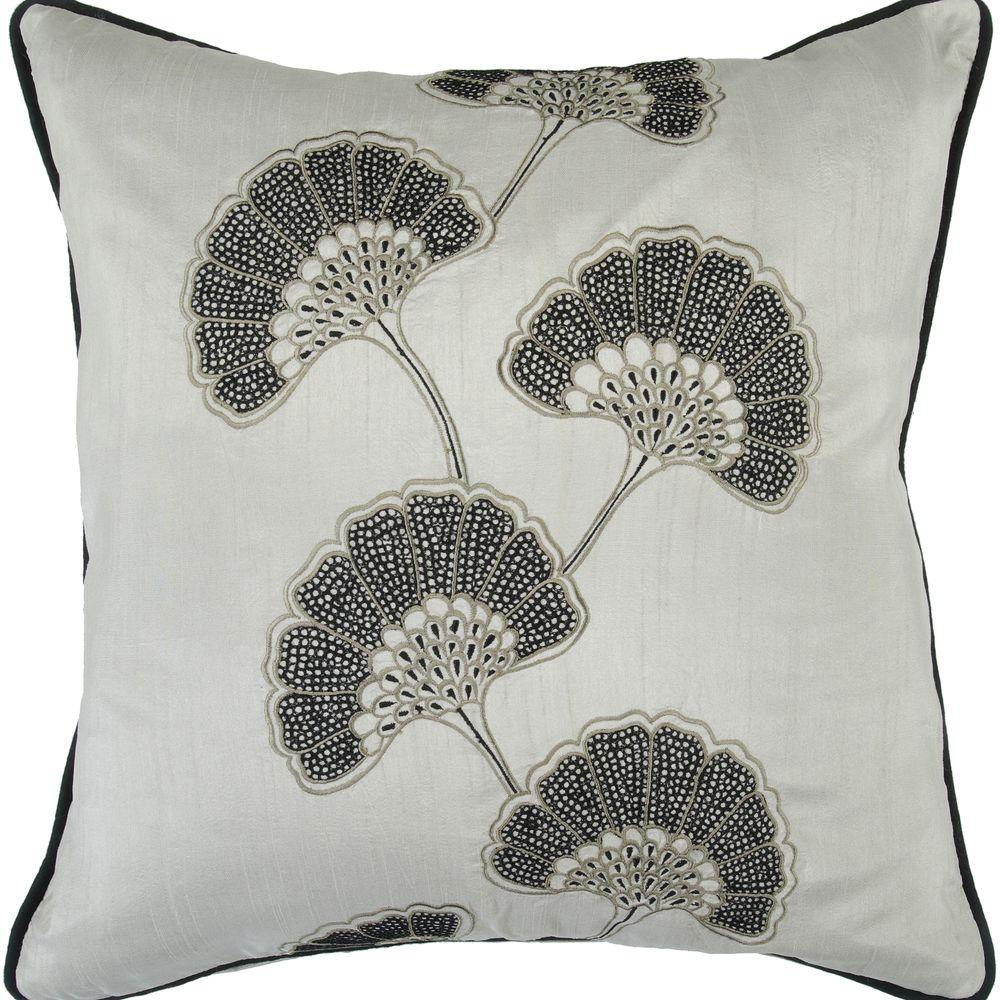 Artistic Weavers FloraD 18 in. x 18 in. Decorative Pillow-DISCONTINUED