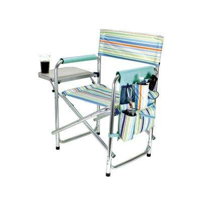 St Tropez Collection Sports Portable Folding Patio Chair