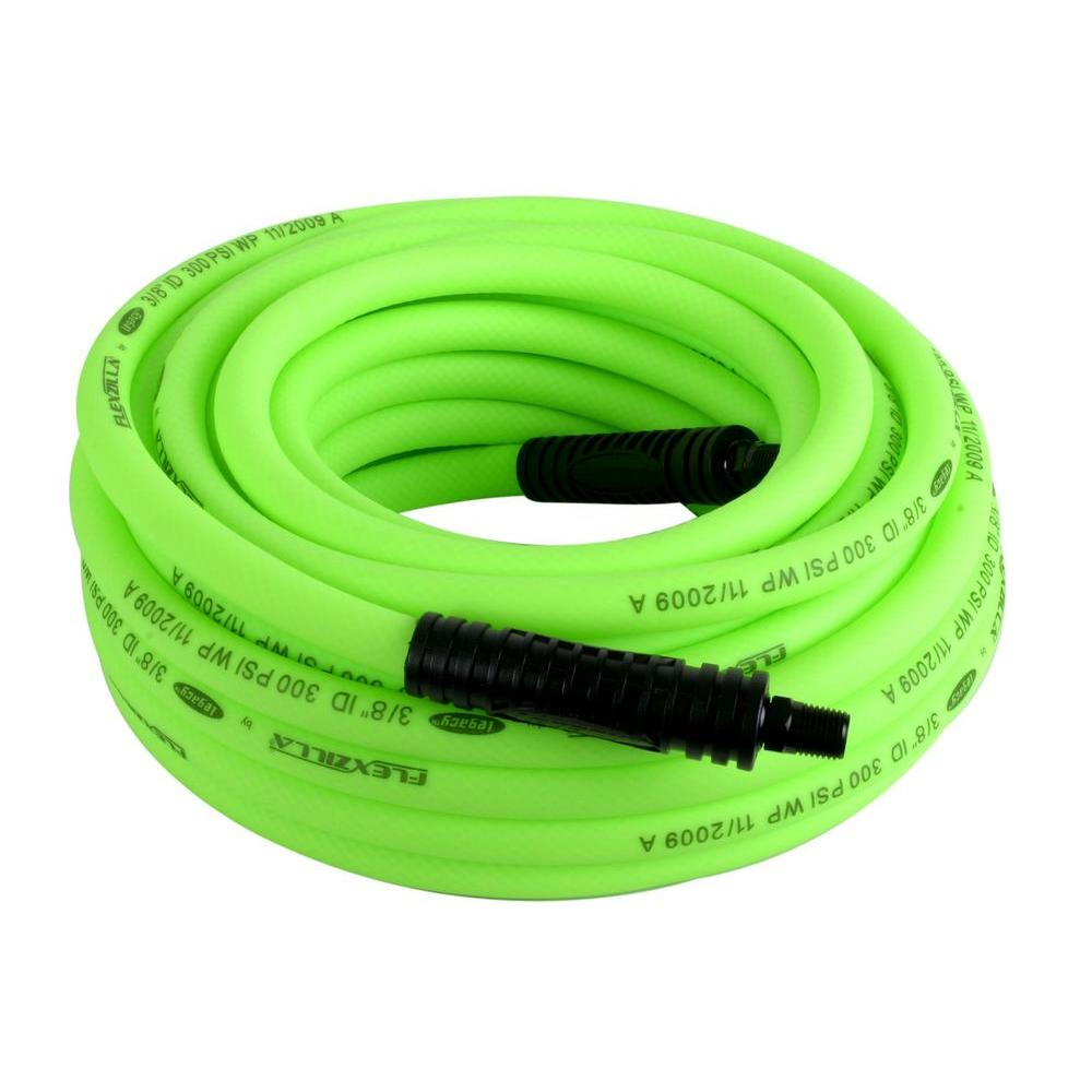 flexzilla air hoses hfz3850yw2 64_1000 flexzilla 3 8 in x 50 ft premium air hose hfz3850yw2 the home depot