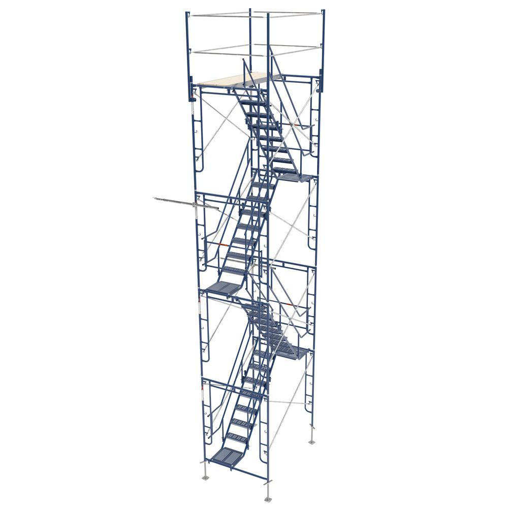 5 ft. x 7 ft. x 26 ft. Scaffolding Tower with