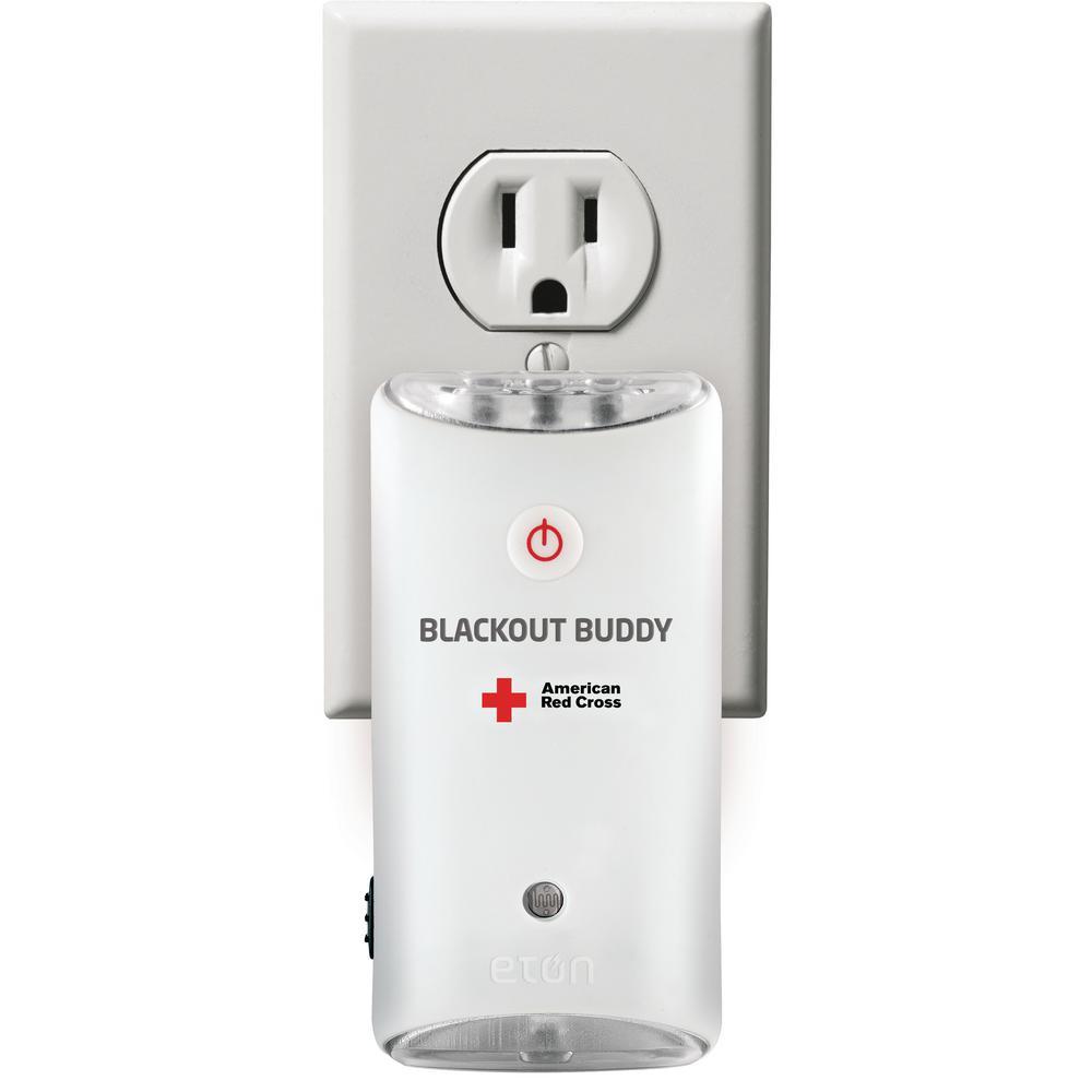 Eton American Red Cross Blackout Buddy Emergency Led Flashlight And