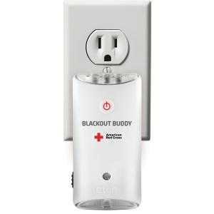 Eton American Red Cross Blackout Buddy Emergency LED Flashlight and Night Light by Eton