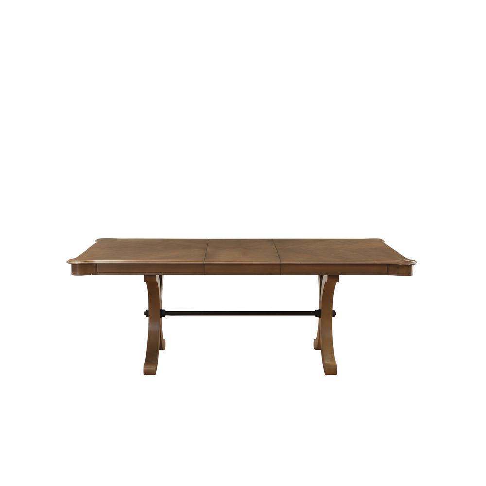 Acme Furniture Harald Gray Oak Dining Table