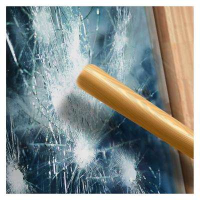 36 in. x 50 ft. S4MB20 4 Mil Black 20 (Dark) Security and Privacy Window Film