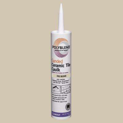 Polyblend #382 Bone 10.5 oz. Sanded Ceramic Tile Caulk