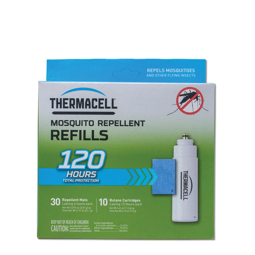30 Thermacell Mosquito Repellent Appliance Lantern Mats 120 Hours-Mats Only