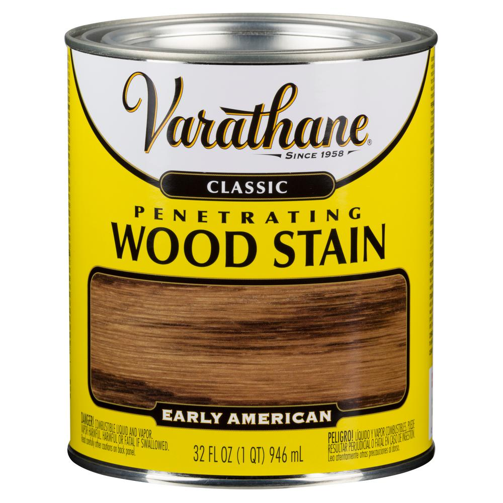 1 qt. Early American Classic Wood Interior Stain (2-Pack)