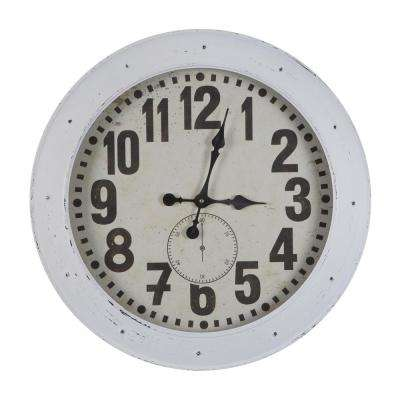 Romago Vintage White Port Wall Clock