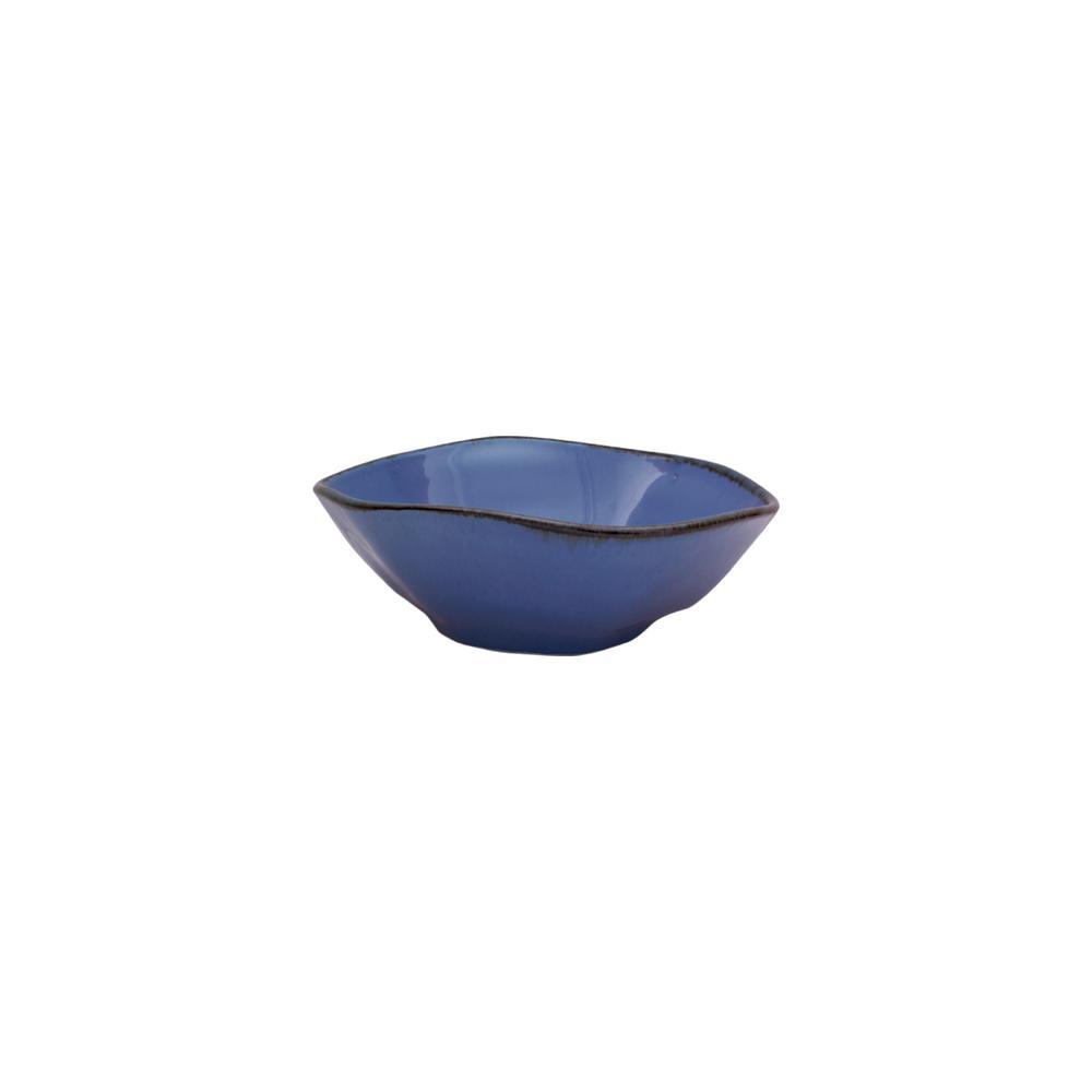 Manhattan Comfort RYO 20.29 oz. Blue Porcelain Soup Bowls (Set of 6) was $89.99 now $52.55 (42.0% off)