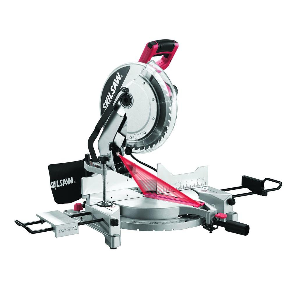 Skil 15 Amp Corded Electric 12 in. Compound Miter Saw wit...