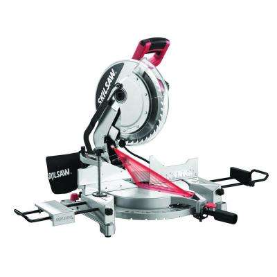 15 Amp Corded Electric 12 in. Compound Miter Saw with Quick-Mount System and Laser