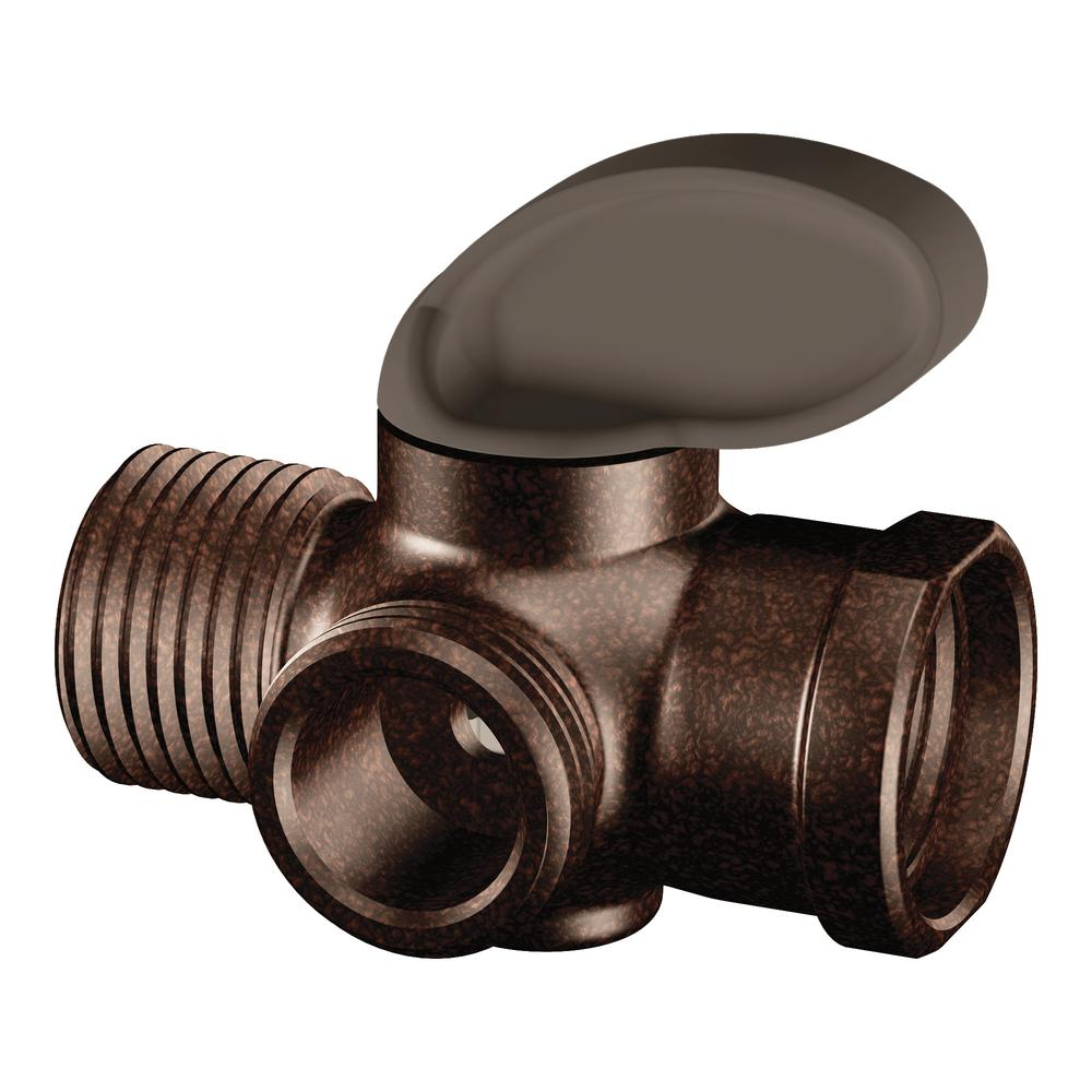 Shower Arm Diverter in Oil-Rubbed Bronze