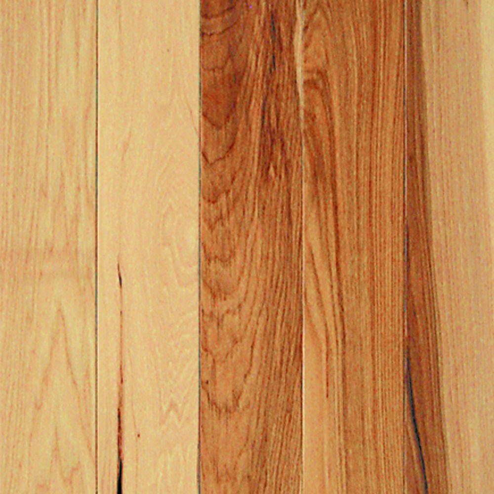 Millstead Hickory Natural 3/4 in. Thick x 3-1/4 in. Wide x Random Length Solid Real Hardwood Flooring (20 sq. ft. / case)