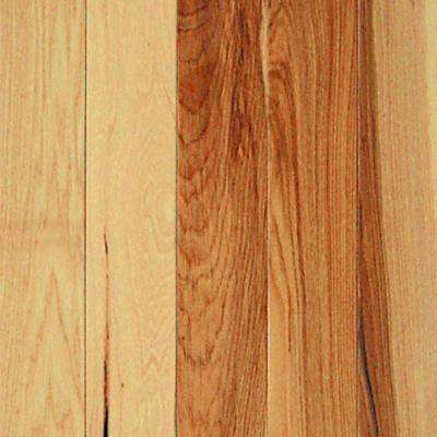 Hickory Natural 3/4 in. Thick x 3-1/4 in. Wide x Random Length Solid Real Hardwood Flooring (20 sq. ft. / case)