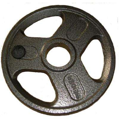 10 lb. Olympic Handle Hammertone Plate