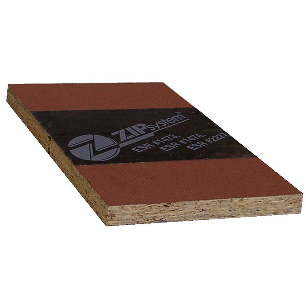 1 2 In 4 Ft X 8 Ft Huber Zip Osb Roof Sheathing 402760 The Home Depot
