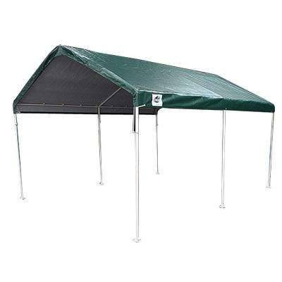 10 ft. W x 20 ft. D 6-Leg Universal Canopy in Green