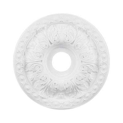 Titan Lighting 18 in. White Ceiling Medallion