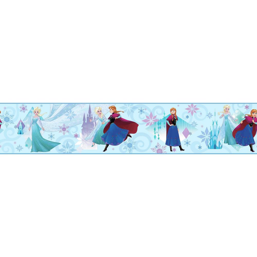 York Wallcoverings Disney Kids Iii Disney Frozen Sisters