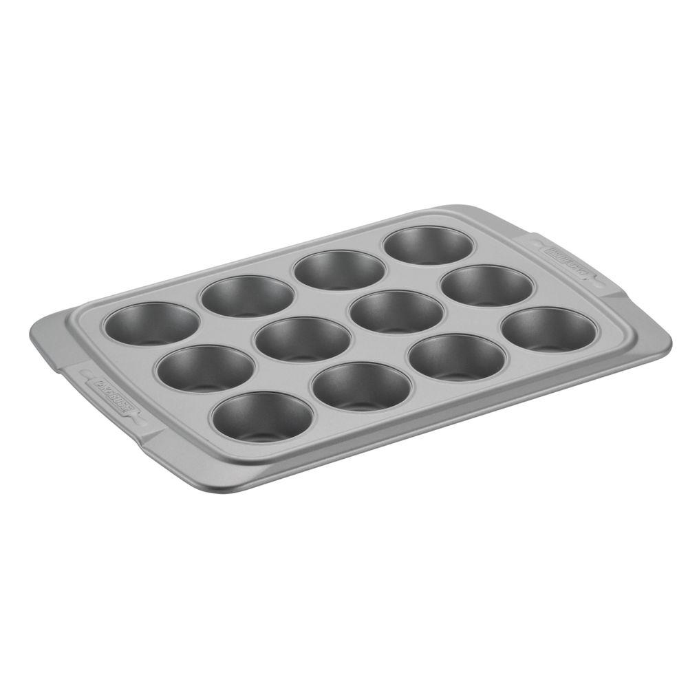 Deluxe 12-Cup Carbon Steel Muffin Pan