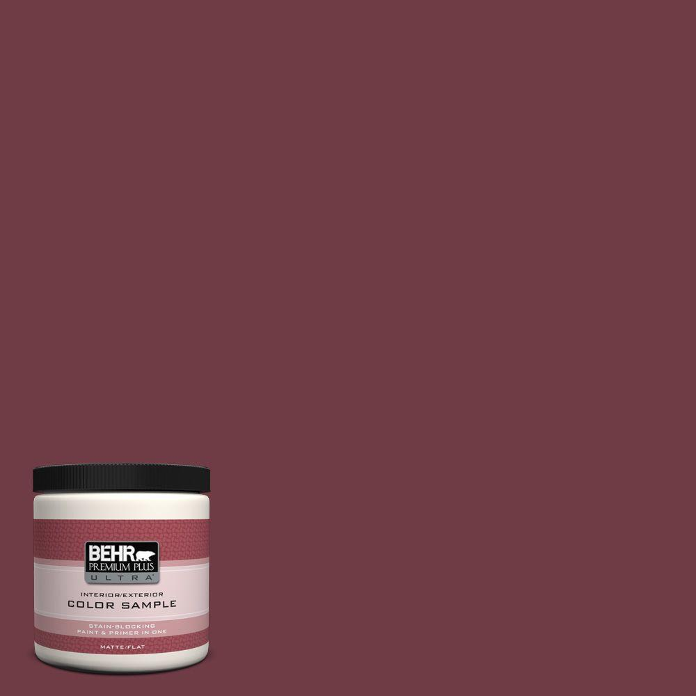 8 oz. #BXC-90 Wild Cranberry Interior/Exterior Paint Sample