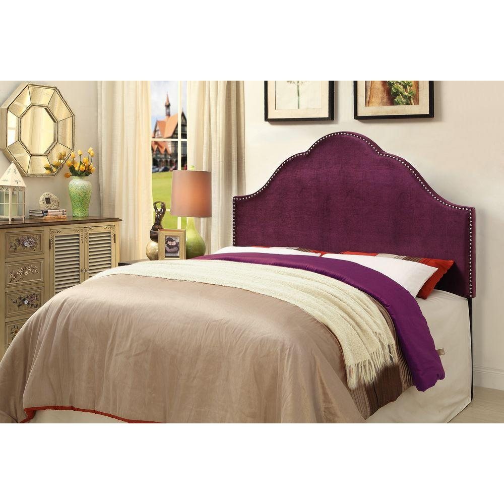 Purple King Headboard. Classic   King   Headboard   Beds   Headboards   Bedroom Furniture