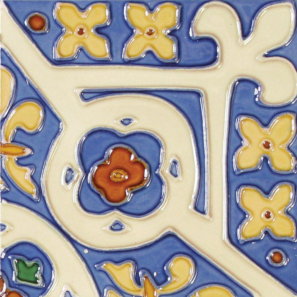 Fantastic 12X24 Ceramic Tile Thick 1X1 Ceramic Tile Round 2X4 Fiberglass Ceiling Tiles 3 X 6 Glass Subway Tile Youthful 3 X 6 White Subway Tile Red3X3 Ceramic Tile Solistone Hand Painted Corona Deco 6 In. X 6 In. Ceramic Wall Tile ..