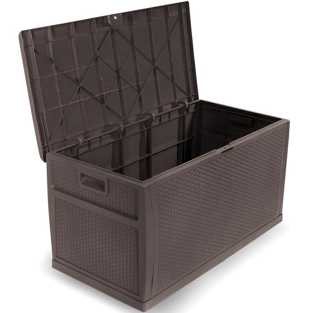 Resin Outdoor Patio Storage Deck Box