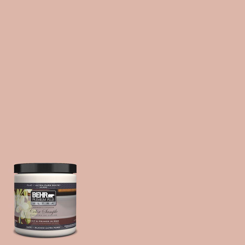 BEHR Premium Plus Ultra 8 oz. #220E-3 Melted Ice Cream Matte ...