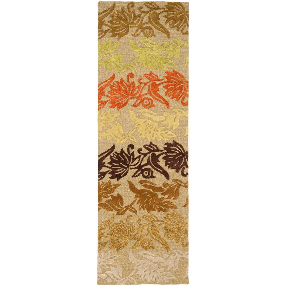 Safavieh Soho Sage/Multi 2 ft. 6 in. x 8 ft. Runner