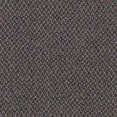 Carpet Sample - Difference Maker - Color Evening Sky Loop 8 in. x 8 in.