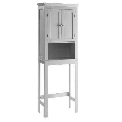 Rancho 23.6 in W Space Save Cabinet in Gray