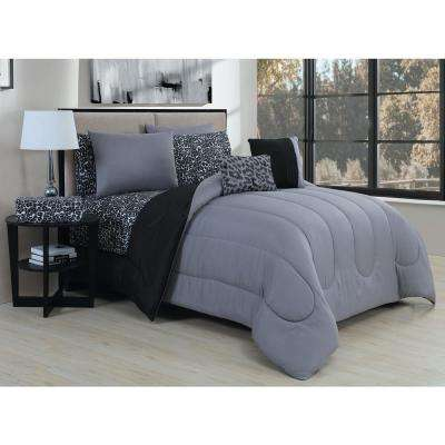 Animal 9-Piece Queen Bed in a Bag