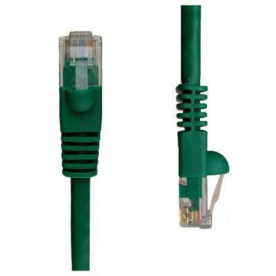 1 ft. Cat5e Snagless Unshielded (UTP) Network Patch Cable, Green