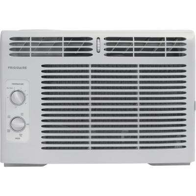 5,000 BTU 115-Volt Window-Mounted Mini-Compact Air Conditioner with Mechanical Controls