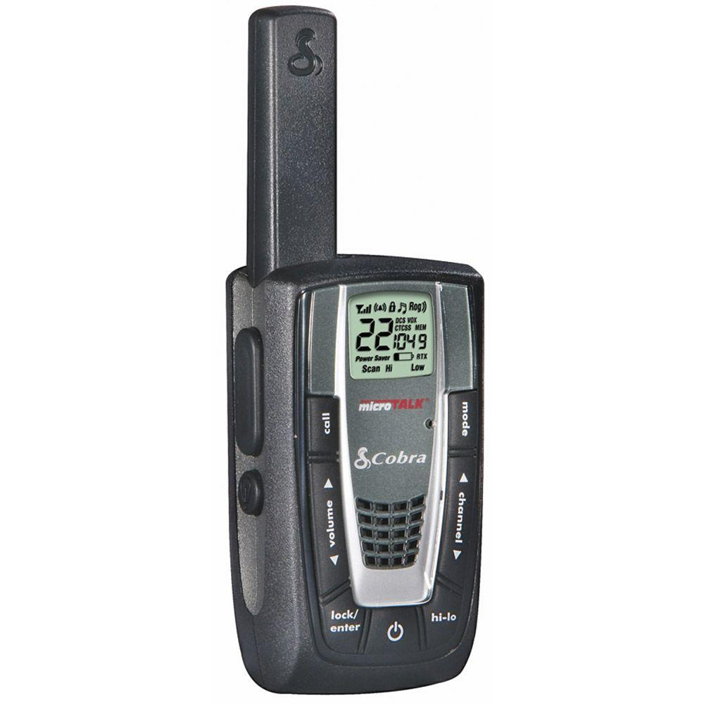 Cobra MicroTalk GMRS/FRS 2-Way 27-Mile 22 Channel Radios (1-Pack)