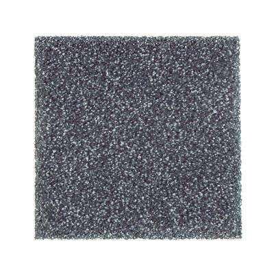 Carpet Sample - Whirlwind II - Color Cascade Texture 8 in. x 8 in.