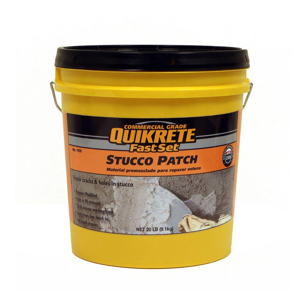 Quikrete 20 Lb Fastset Stucco Patch