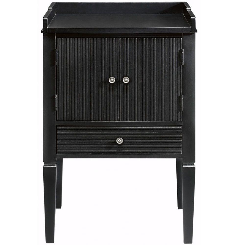 Martha Stewart Living Larsson Carbon Black 32 In. H x 20.75 In. W Cabinet