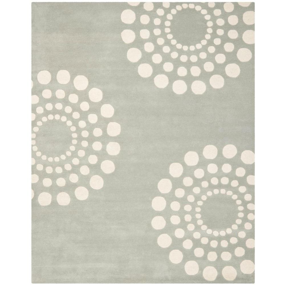 Soho Grey/Ivory 7 ft. 6 in. x 9 ft. 6 in.