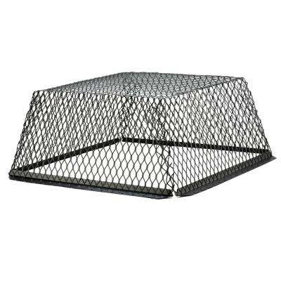 VentGuard 30 in. x 30 in. Roof Wildlife Exclusion Screen in Galvanized Black