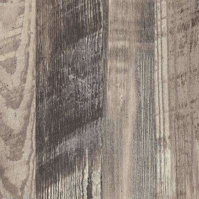 3 in. x 5 in. Laminate Countertop Sample in Antique Marula Pine with Premium Gloss Line