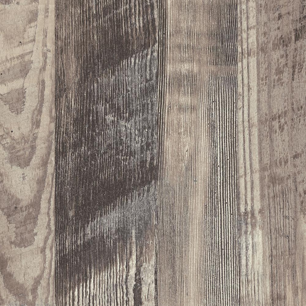 60 in. x 144 in. Laminate Sheet in Antique Marula Pine Premium Gloss Line