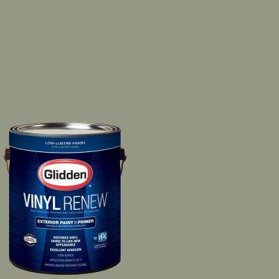 1 gal. #HDGCN08 Eucalyptus Tree Low-Lustre Exterior Paint with Primer