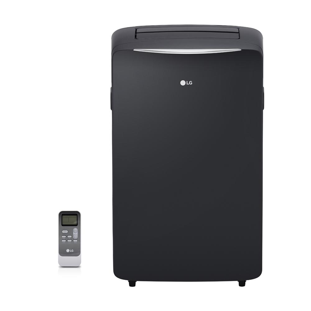 LG Electronics 14,000 BTU (8,000 BTU,DOE) Portable Air Conditioner,  115-Volt w/ Dehumidifier Function and LCD Remote in Graphite