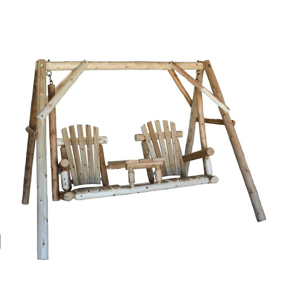 Lakeland Mills Tete-a-Tete Patio Swing