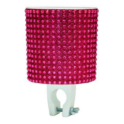 Bling Fuchsia Bicycle Drink Holder